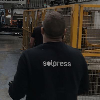 reparación prensa industrial