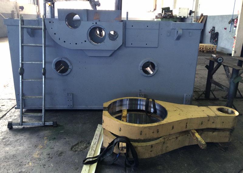 prensa hidraulica montaje